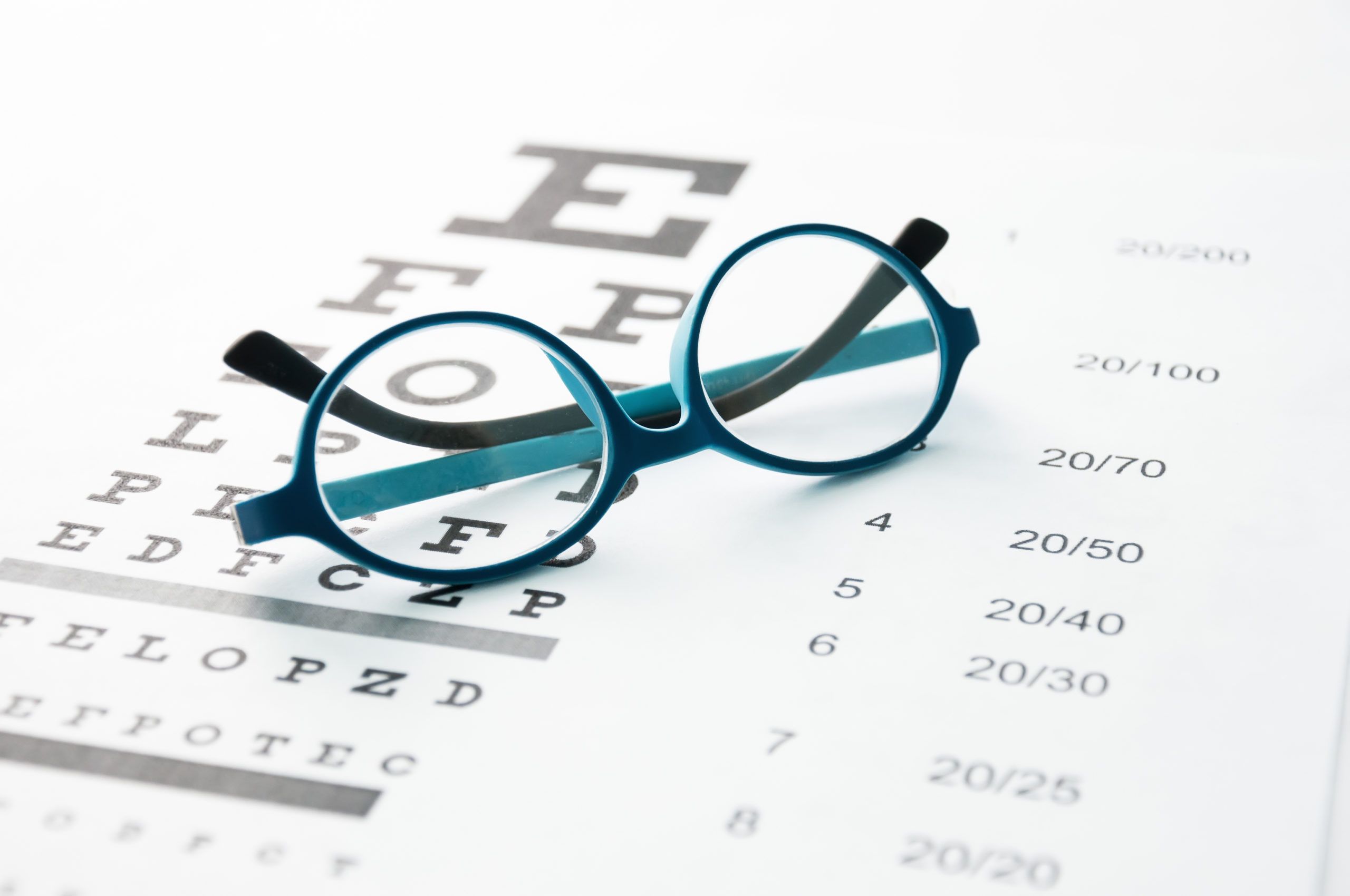 Examen de vue opticien